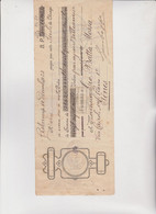 CAMBIALE  -  LISBONA - PORTOGALLO  1923 . CON MARCHE ITALIANE - Bills Of Exchange