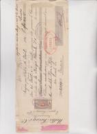 CAMBIALE  - PROMA DI CAMBIO.  TEUFEN  PRES  SAINT  GALL .  1921 . CON MARCHE SVIZZERA E ITALIA - Bills Of Exchange
