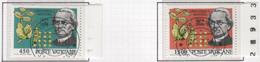 """Vaticano - 1984 - """"100° Morte Dell'Abate Gregorio J. Mendel"""" S.cpl 2v Annullo 1° Giorno Di Emiss. - Used Stamps"""