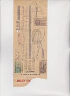 CAMBIALE  -  PARIS  -  1927 .  CON 3  MARCHE  FRANCESI - Bills Of Exchange