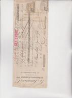 CAMBIALE  - PARIS  1920.  DITTA  SAUNIER . CON  MARCHE  ITALIANE - Bills Of Exchange