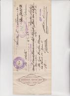 CAMBIALE  - PRIMA DI CAMBIO.  SEVILLA  -  SPAGNA.  1930   CON MARCHE  ITALIANE - Bills Of Exchange