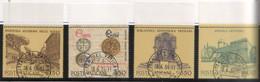 """Vaticano - 1984 - """"Istituzioni Culturali E Scientifiche Della Santa Sede"""" S.cpl 4v Annullo 1° Giorno Di Emiss. - Used Stamps"""