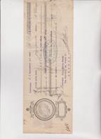 CAMBIALE  -   -  LISBONNE  1913  . CON MARCHE  ITALIANE - Cambiali