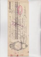 CAMBIALE  -   -  LISBOA   1920  . CON MARCHE  ITALIANE - Bills Of Exchange