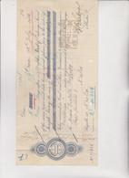 CAMBIALE  - PRIMA DI CAMBIO.  ORAN  1932   . CON MARCHE  ITALIANE - Bills Of Exchange