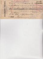 CAMBIALE  - CHEMNITZ  1904  . CON MARCHE  ITALIANE - Bills Of Exchange