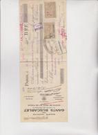 CAMBIALE  - PARIS  1924.  CON MARCHE  FRANCESI  ED  ITALIANE . - Bills Of Exchange