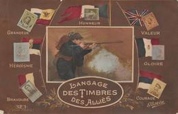 Le Langage Des Timbres Des Alliés - Altri