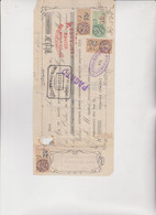 CAMBIALE  -  NICE  1927  .  CON MARCHE  FRANCESI  ED  ITALIANE . - Bills Of Exchange