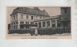 Troupes Allemandes à La Gare De Charleville - 1914-18