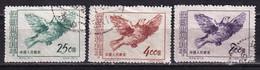 China 1953 Peace Campaign Birds Dove 3 CTO - Usados
