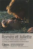 F30 / CARTE CPM Theater  PUB Card Cart' Com Théâtre OPERA BALLET Roméo Et JULIETTE WALT GERGIEV PAHN BERLIOZ - Opera