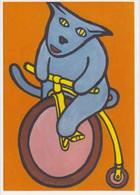 Cpm 1741/697 ERGON - Chat Sur Un Grand-bi - Animal - Bicyclette - Vélo - Cyclisme - Bicycle - Illustrateur - Peintre - Ergon