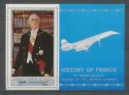 090 Charles De Gaulle - YAR (nord Yemen) - B 115 Concorde Avion (plane Planes Avions) - Concorde