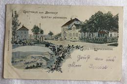 Allemagne -Gasthaus Zum Bahnhof -gruss Aus Leopoldshöhe -704 - Sin Clasificación