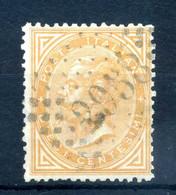 1863 REGNO N.17 USATO - Usati