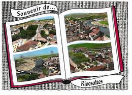 66 - RIVESALTES - Livre Ouvert - Souvenir  (4 Vues) - Rivesaltes