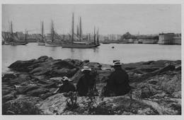 CONCARNEAU - Vue Générale Du Port - Concarnoises Assises -TBE - Concarneau