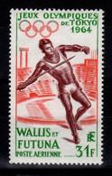 Wallis & Futuna - YV PA 21 N** JO Tokyo 1964 Cote 25 Euros - Unused Stamps