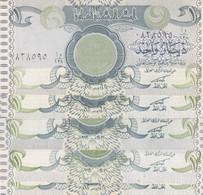 IRAQ 1 DINAR 1992 P-79 LOT X5 UNC NOTES - Iraq