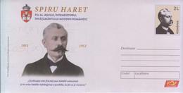 ROMANIA : Mathematician SPIRU HARET 016/2021, Unused Prepaid Cover - Registered Shipping! - Interi Postali