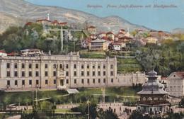 AK - SARAJEVO - Franz Josefs Kaserne Mit Musikpavillon Und Villenviertel 1914 - Bosnia And Herzegovina