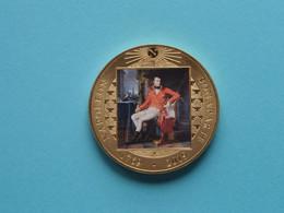 NAPOLEON BONAPARTE 1769 - 2019 - One Crown 2019 - St. HELENA ( Details Zie / Voir Photo ) Gold Color ! - Saint Helena Island