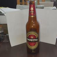 Israel-goldstar Beer Bottle Glasse-dark Lager Beer-(500ml)-(4.9%)-used Bottle Glasse - Beer