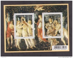 "FRANCE / 2010 / Y&T N° 4518/4519 ** En Bloc Ou F4518 ** (Feuillet ""Sandro Botticelli"") X 1 - Mint/Hinged"