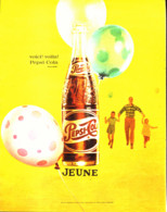 """PUB   """" PEPSI-COLA   """"  1961 ( 6 ) - Affiches Publicitaires"""