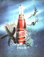 """PUB   """" PEPSI-COLA   """"  1961 ( 8 ) - Affiches Publicitaires"""