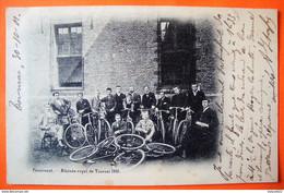 Tournai. Pensionnat Athénée Royal 1901. Cyclistes. - Tournai