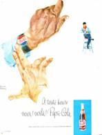 """PUB   """" PEPSI-COLA   """"  1963 ( 10 ) - Affiches Publicitaires"""