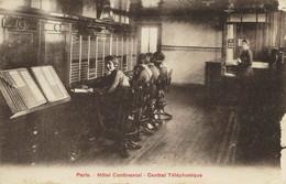 6866 -  Paris -  Hotel Continental :  Central Téléphonique - Ambachten In Parijs