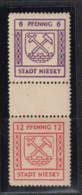SBZ  Lokalausgabe Stadt Niesky MiNo. SZd 7 ** (30.-) - Zona Soviética