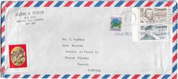 Canada , Sandford Fleming , Joseph Bernier , Quebec 1977 Postmark , Cinderella Screech Owl , Label - Other