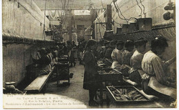6893 -Paris  TAPIS Et TAPISSERIE  R Et L HAMOT - 75 Rue Richelieu - Manufacture D'Aubusson - Un Atelier Metier Ouvrieres - Ambachten In Parijs