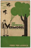 """* Fascicule VERMOREL - Conseils Pour Application Bouillie Bordelaise - """" Dosages En Fonction Maladie """" * - Pubblicitari"""