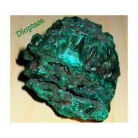 Dioptase 2,6 X 3 X 3,8 Cm Pierre Naturelle Brute Bien être Et Santé - Minerals