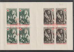 France Carnet Croix Rouge 1973 Oblitération 1er Jour - Red Cross