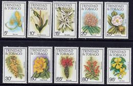 TRINIDAD & TOBAGO - Fleurs - Y&T N° 483-498 - MNH - 1983 - Trinité & Tobago (1962-...)