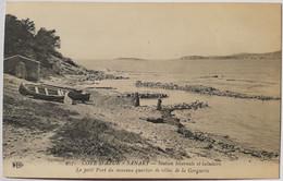 937 COTE D'AZUR - SANARY - Station Hivernale Et Balnéaire - Le Petit Port Du Nouveau Quartier De Villas De La Gorguette - Sanary-sur-Mer