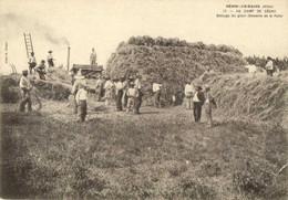 NERIS LES BAINS AU CAMP DE CESAR Battage Du Grain  (Domaine De La Palle) RV - Zonder Classificatie