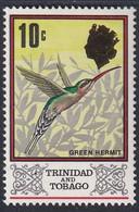 TRINIDAD & TOBAGO - Faune, Oiseau, Effigie Dorée De La Reine Elizabeth - MNH - Trinité & Tobago (1962-...)