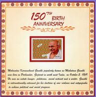 Ghana 2019. 150th Birth Anniversary Mahatma  Gandhi.  MNH - Ghana (1957-...)