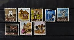 04 - 21  - Zambie  - Lot De Timbres Oblitéré - Zambia (1965-...)