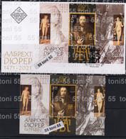 2021 The Art Of Albrecht Dürer S/S+FDC Bulgaria/Bulgarie - Unused Stamps