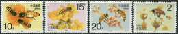 China 1993. Mi.2497/2500-C MNH/Luxe. Fauna. Insects. Honeybees (Ts20) - Unused Stamps