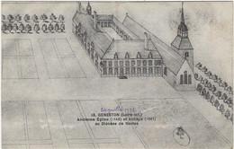 44  Geneston  En Montbert  -  Ancienne Eglise Et  Abbaye Au Diocese De Nantes - Otros Municipios